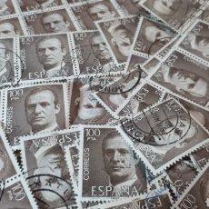 Sellos: 180 SELLOS USADOS EDIFIL 2605 AÑO 1981 JUAN CARLOS I LOTE J03. Lote 210964140