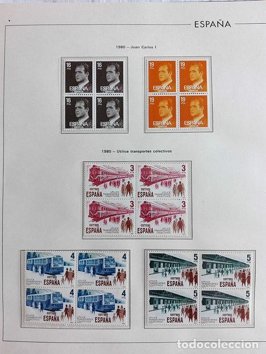 Sellos: España sellos 1980 bloque de 4 en Hojas edifil con filo transparente HEBS 80 - Foto 4 - 211498589