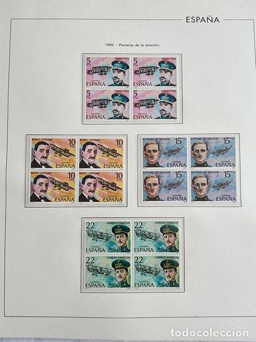 Sellos: España sellos 1980 bloque de 4 en Hojas edifil con filo transparente HEBS 80 - Foto 8 - 211498589
