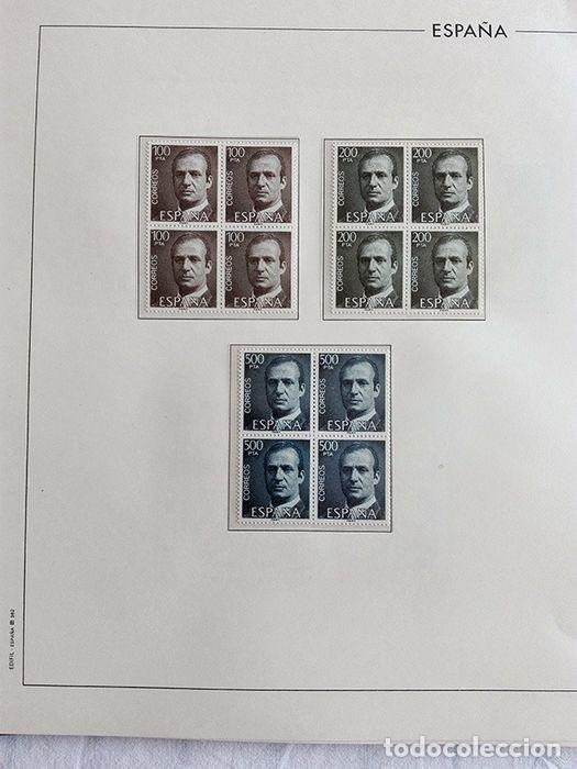 Sellos: España sellos 1981 bloque de 4 en Hojas edifil con filo transparente HEBS 81 - Foto 2 - 211499092
