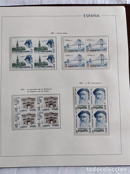 Sellos: España sellos 1981 bloque de 4 en Hojas edifil con filo transparente HEBS 81 - Foto 4 - 211499092