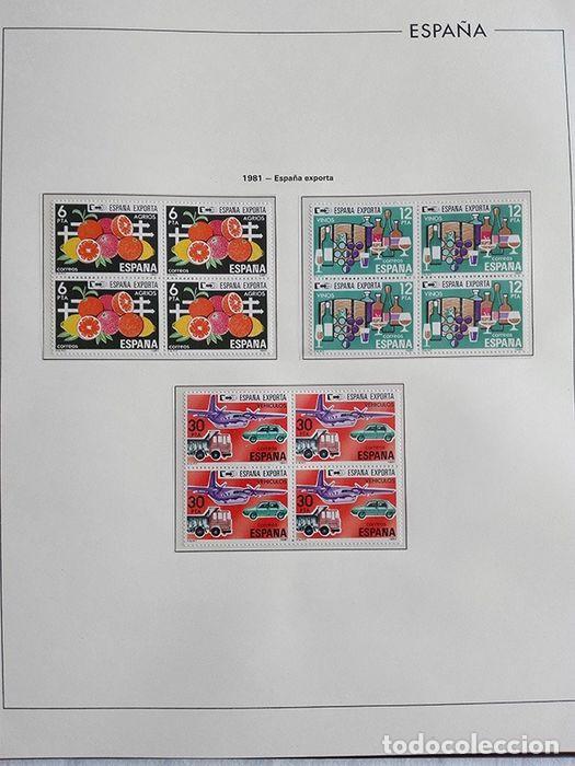 Sellos: España sellos 1981 bloque de 4 en Hojas edifil con filo transparente HEBS 81 - Foto 5 - 211499092