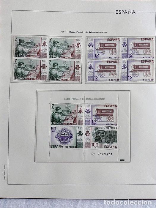 Sellos: España sellos 1981 bloque de 4 en Hojas edifil con filo transparente HEBS 81 - Foto 8 - 211499092