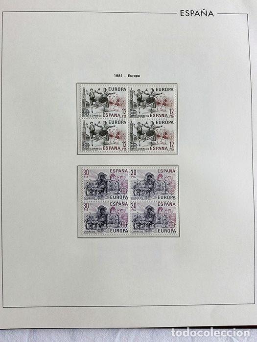 Sellos: España sellos 1981 bloque de 4 en Hojas edifil con filo transparente HEBS 81 - Foto 12 - 211499092
