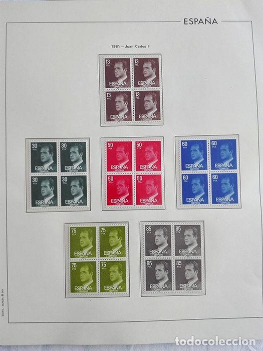 Sellos: España sellos 1981 bloque de 4 en Hojas edifil con filo transparente HEBS 81 - Foto 15 - 211499092