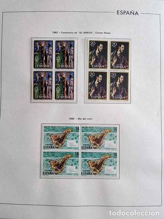 Sellos: España sellos 1982 bloque de 4 en Hojas edifil con filo transparente HEBS 82 - Foto 3 - 211499439