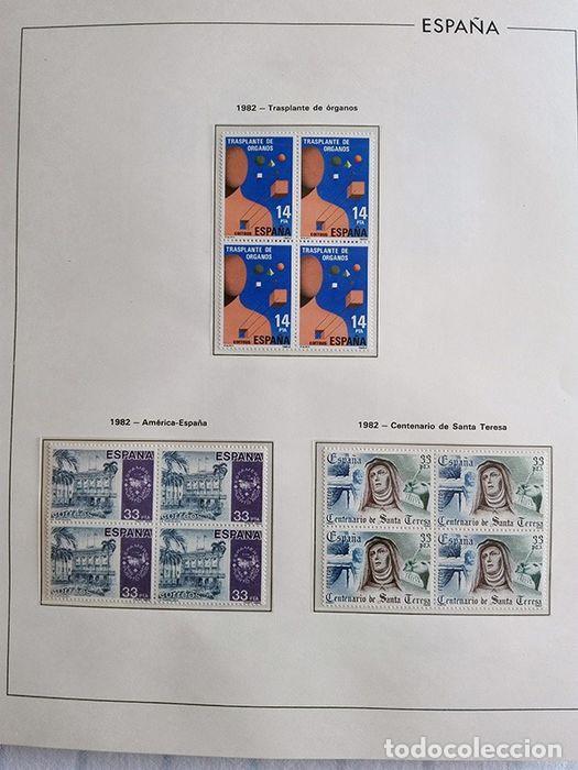 Sellos: España sellos 1982 bloque de 4 en Hojas edifil con filo transparente HEBS 82 - Foto 7 - 211499439