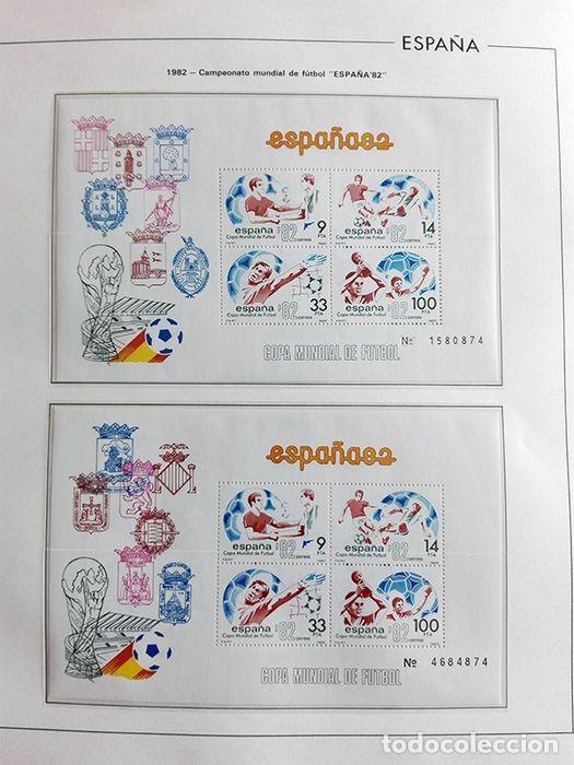 Sellos: España sellos 1982 bloque de 4 en Hojas edifil con filo transparente HEBS 82 - Foto 9 - 211499439