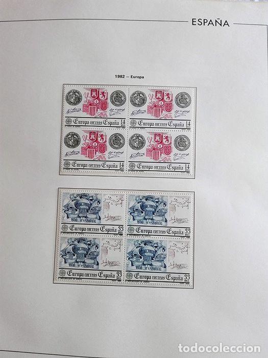 Sellos: España sellos 1982 bloque de 4 en Hojas edifil con filo transparente HEBS 82 - Foto 10 - 211499439