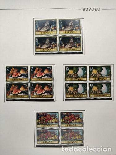 Sellos: España sellos año 1976 bloque de 4 con Suplemento hojas Filabo negro HFBS70 76 - Foto 13 - 211685156