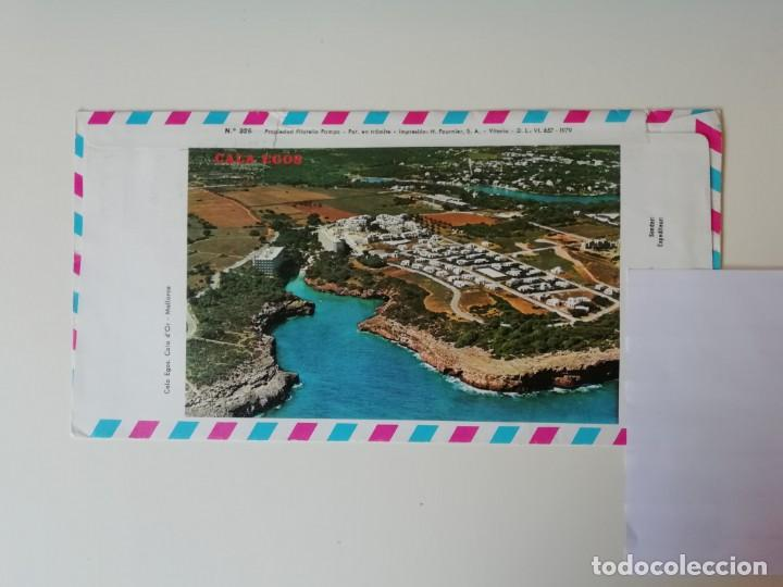 Sellos: SOBRE RECUERDO FILATÉLICO DE ESPAÑA - Foto 2 - 211861970