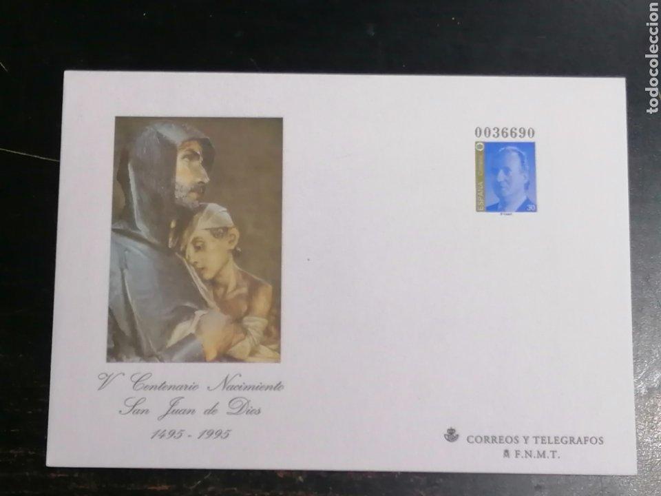 ESPAÑA ENTERO POSTAL 1996 EDIFIL 31 (Sellos - España - Juan Carlos I - Desde 1.986 a 1.999 - Cartas)