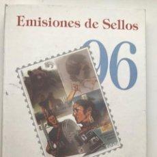 Sellos: LIBRO OFICIAL DE CORREOS AÑO 1996 CON LA EMISION DE SELLOS DE ESPAÑA Y ANDORRA. Lote 212011978