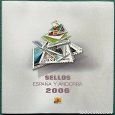 Sellos: LIBRO OFICIAL DE CORREOS AÑO 2006 CON TODAS LAS EMISIONES DE SELLOS DE ESPAÑA Y ANDORRA DEL AÑO 2005. Lote 212061337