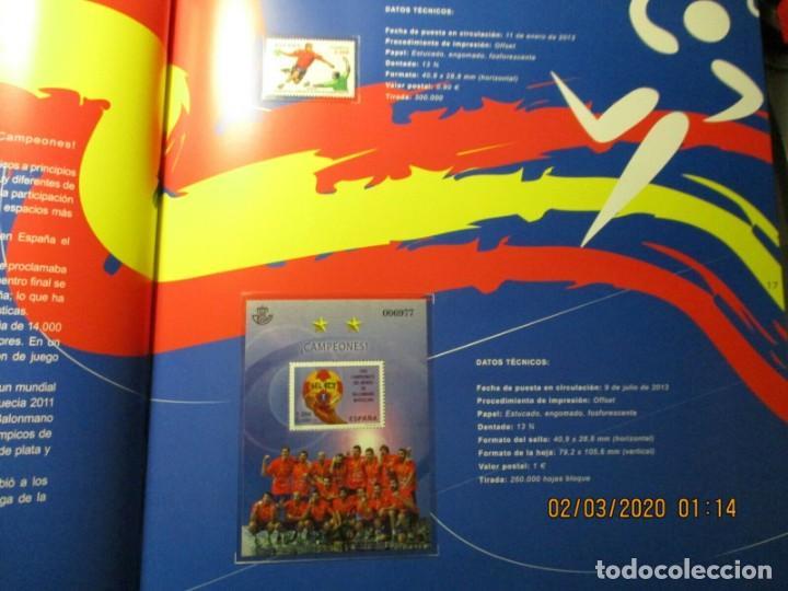 Sellos: Libro oficial de correos año 2013 con todas las emisiones de sellos de España y Andorra del año 2013 - Foto 4 - 212063477