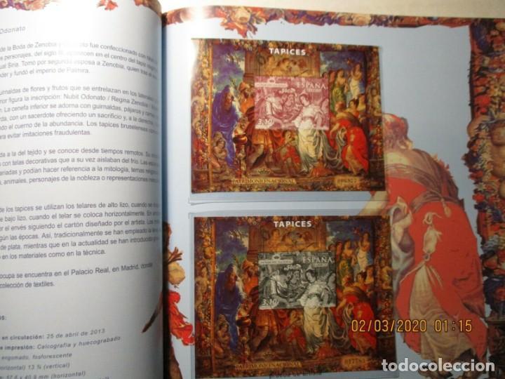 Sellos: Libro oficial de correos año 2013 con todas las emisiones de sellos de España y Andorra del año 2013 - Foto 6 - 212063477