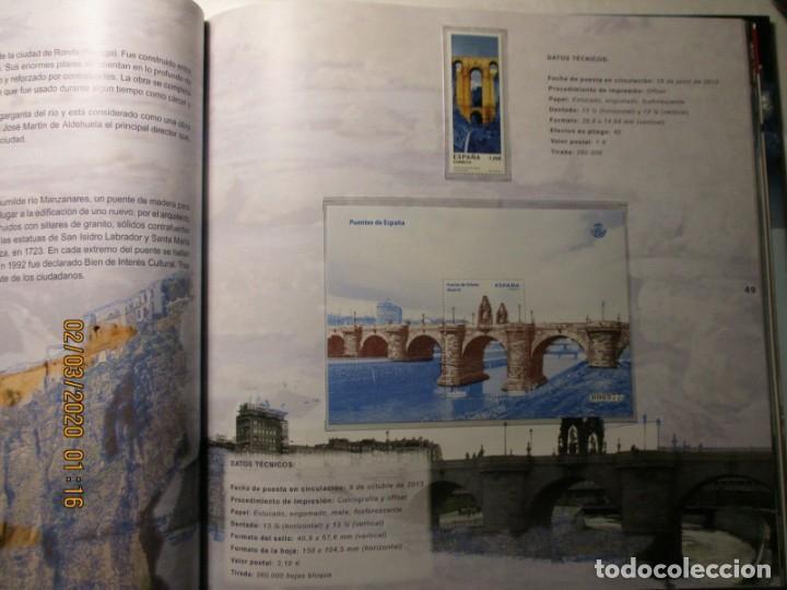 Sellos: Libro oficial de correos año 2013 con todas las emisiones de sellos de España y Andorra del año 2013 - Foto 8 - 212063477