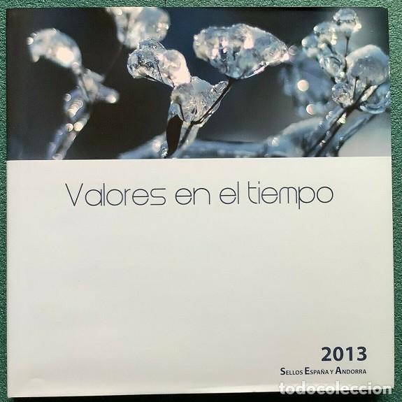 LIBRO OFICIAL DE CORREOS AÑO 2013 CON TODAS LAS EMISIONES DE SELLOS DE ESPAÑA Y ANDORRA DEL AÑO 2013 (Sellos - España - Juan Carlos I - Desde 2.000 - Nuevos)