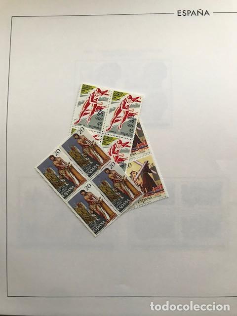 Sellos: España sellos año 1988 en bloque de 4 y Hojas FILABO en negro HFBS80 88 VER IMAGENES - Foto 4 - 212103137