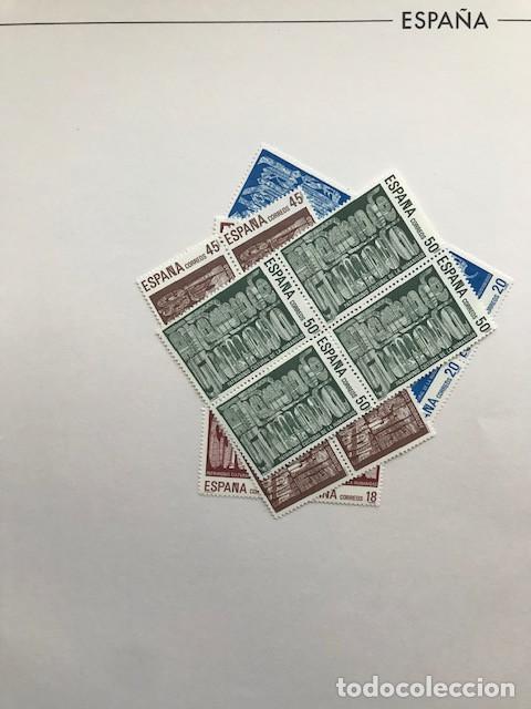 Sellos: España sellos año 1988 en bloque de 4 y Hojas FILABO en negro HFBS80 88 VER IMAGENES - Foto 5 - 212103137