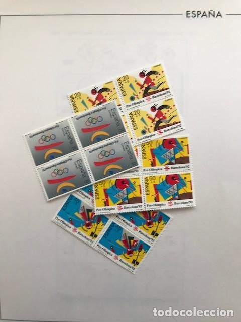 Sellos: España sellos año 1988 en bloque de 4 y Hojas FILABO en negro HFBS80 88 VER IMAGENES - Foto 14 - 212103137