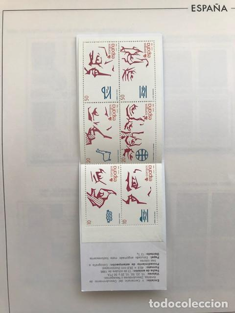 Sellos: España sellos año 1988 en bloque de 4 y Hojas FILABO en negro HFBS80 88 VER IMAGENES - Foto 17 - 212103137