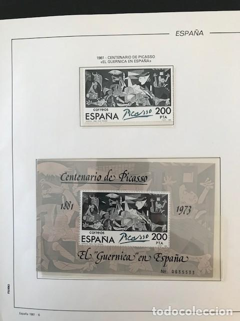 Sellos: España sellos año 1981 completo con Suplemento Hojas Filabo España año 1981 EN TRANSPARENTE HFS 81 - Foto 4 - 212256670