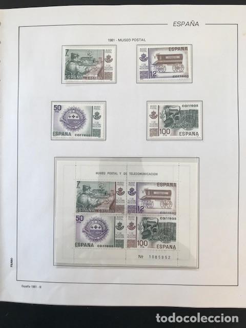 Sellos: España sellos año 1981 completo con Suplemento Hojas Filabo España año 1981 EN TRANSPARENTE HFS 81 - Foto 7 - 212256670