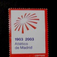 Sellos: 3983, SERIE EN USADO. ATL. MADRID.. Lote 212338265