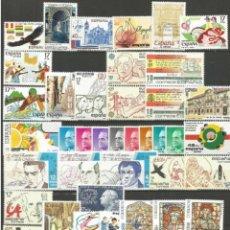 Selos: ESPAÑA, AÑO 1985 COMPLETO Y NUEVO, MNH (FOTOGRAFÍA ESTÁNDAR). Lote 291866013