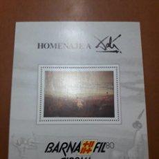 Selos: SELLOS ESPAÑA CONGRESOS Y EXPOSICIONES HOJITA NUMERADA. Lote 212831666