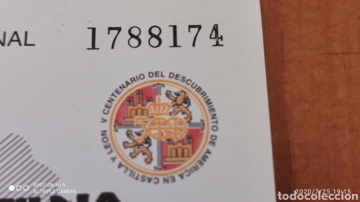 Sellos: HOJA BLOQUE EXFILNA 92, CON SELLO DE LA, EXPOSICIÓN, MUY DIFÍCIL, VER - Foto 5 - 212863511