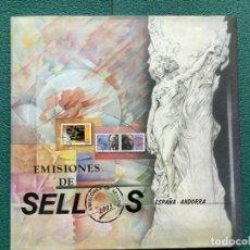 Sellos: SELLOS ESPAÑA LIBRO OFICIAL DE CORREOS 2003 MONTADO CON FILOESTUCHES (ESPAÑA Y ANDORRA) SIN SELLOS. Lote 212970546