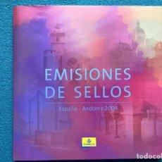 Sellos: SELLOS ESPAÑA LIBRO OFICIAL DE CORREOS 2004 MONTADO CON FILOESTUCHES (ESPAÑA Y ANDORRA) SIN SELLOS. Lote 212970596