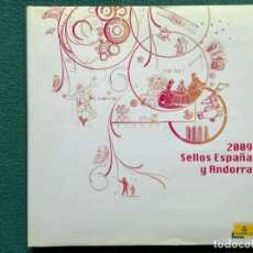 Sellos: SELLOS ESPAÑA LIBRO OFICIAL DE CORREOS 2009 MONTADO CON FILOESTUCHES (ESPAÑA Y ANDORRA) SIN SELLOS. Lote 212970813
