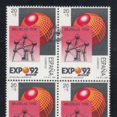 Sellos: ESPAÑA, 1987 EDIFIL Nº 2992 /**/ VARIEDAD DE IMPRESIÓN, MANCHA NEGRA.. Lote 213024360