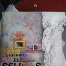 Sellos: LIBRO FILATELICO.ALBUM SELLOS ESPAÑA ANDORRA AÑO 2003.SIN SELLOS. Lote 213272278