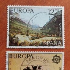 Sellos: ESPAÑA, EUROPA CEPT 1977 USADA(FOTOGRAFÍA ESTÁNDAR ). Lote 213571695