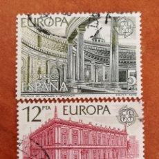 Sellos: ESPAÑA, EUROPA CEPT 1978 USADA (FOTOGRAFÍA ESTÁNDAR ). Lote 213602855