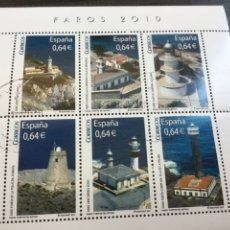 Sellos: FAROS 2010. HB MATASELLADA.EDIFIL 4594.. Lote 213603078