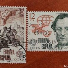 Sellos: ESPAÑA, EUROPA CEPT 1979 USADO (FOTOGRAFÍA ESTÁNDAR ). Lote 213609732