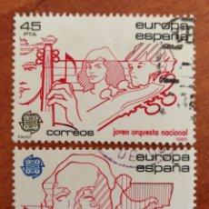 Sellos: ESPAÑA, EUROPA CEPT 1985 USADA (FOTOGRAFÍA ESTÁNDAR ). Lote 213699680
