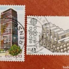 Sellos: ESPAÑA, EUROPA CEPT 1987 USADA (FOTOGRAFÍA ESTÁNDAR ). Lote 213713630