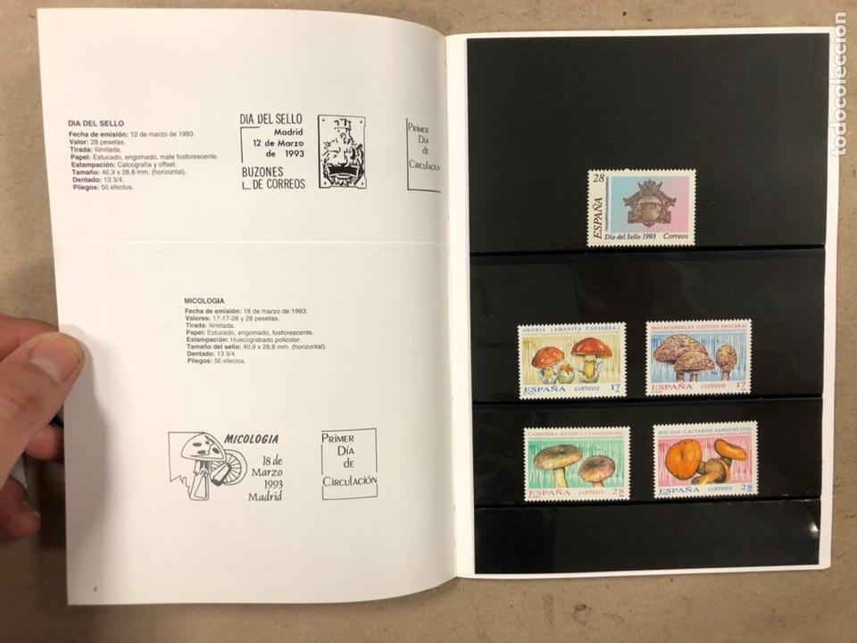 Sellos: EMISIONES DE SELLOS CORREOS Y TELÉGRAFOS ESPAÑA ANDORRA 1993. COMPLETO. - Foto 4 - 213720885