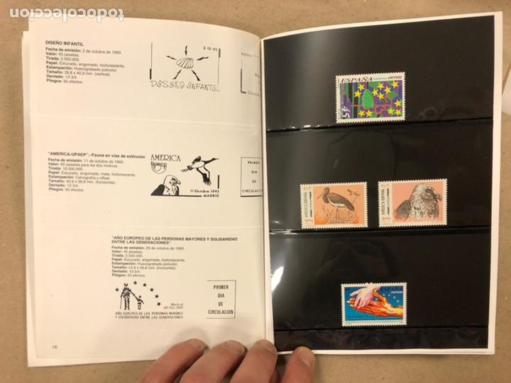 Sellos: EMISIONES DE SELLOS CORREOS Y TELÉGRAFOS ESPAÑA ANDORRA 1993. COMPLETO. - Foto 10 - 213720885