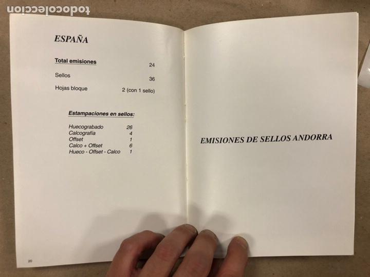 Sellos: EMISIONES DE SELLOS CORREOS Y TELÉGRAFOS ESPAÑA ANDORRA 1993. COMPLETO. - Foto 12 - 213720885