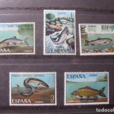 Francobolli: -1977, FAUNA HISPANICA, EDIFIL 2403/07. Lote 213945415