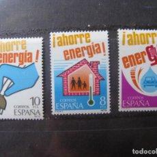Francobolli: -1979, AHORRO DE ENERGIA, EDIFIL 2508/10. Lote 213971417