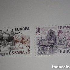 Sellos: ESPAÑA EDIFIL 2615/6, EUROPA 1981 SELLOS NUEVOS. Lote 213979092