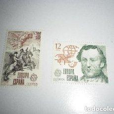 Sellos: EDIFIL 2520/1, EUROPA 1979, NUEVOS (SERIE COMPLETA). Lote 213980970
